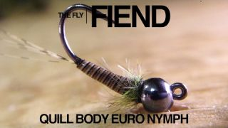 Quill Body Euro Nymph Fly Tying Tutorial | The Fly Fiend.